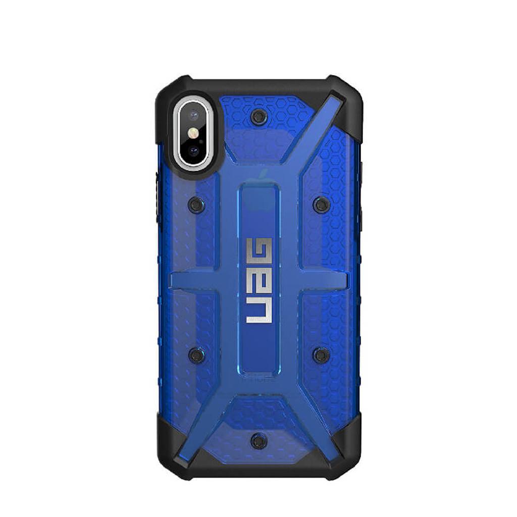 UAG Plasma iPhone X Case | Cobalt | Back