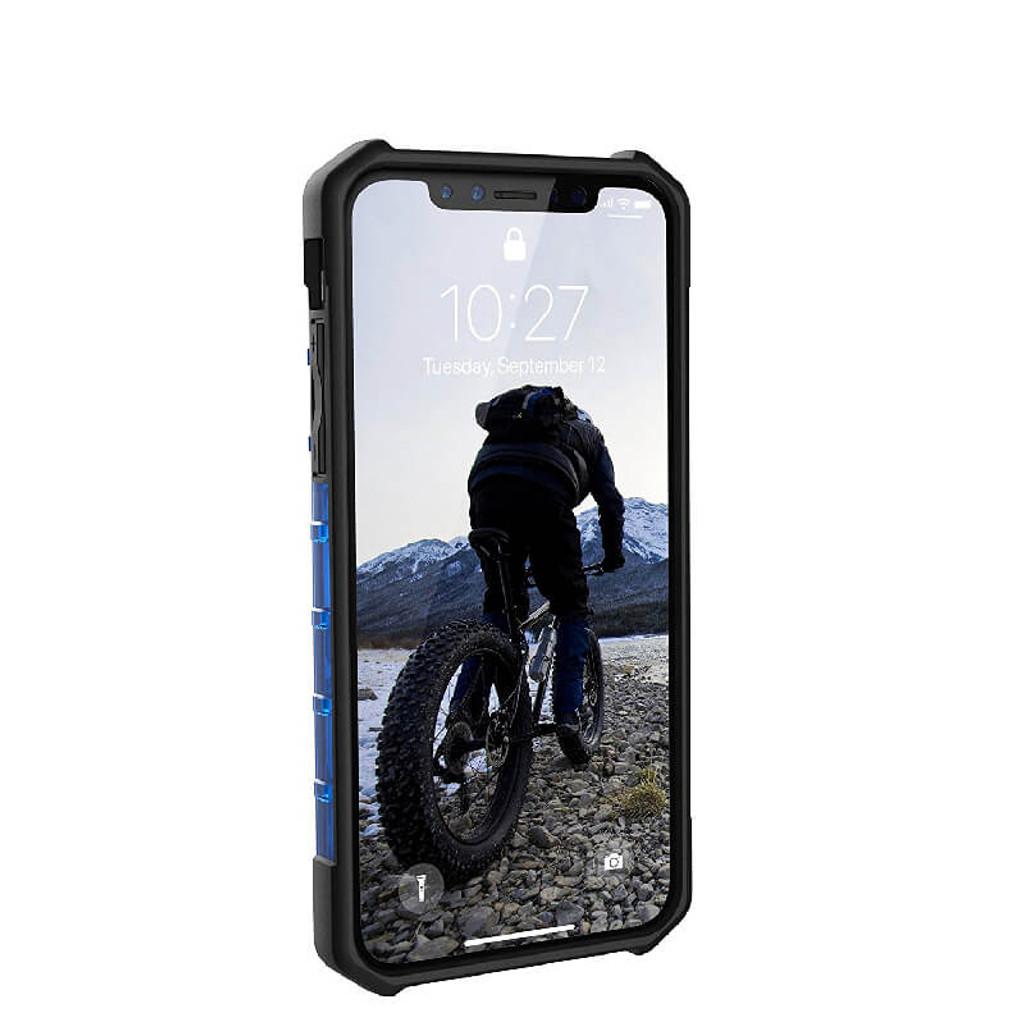 UAG Plasma iPhone X Case | Cobalt | Front