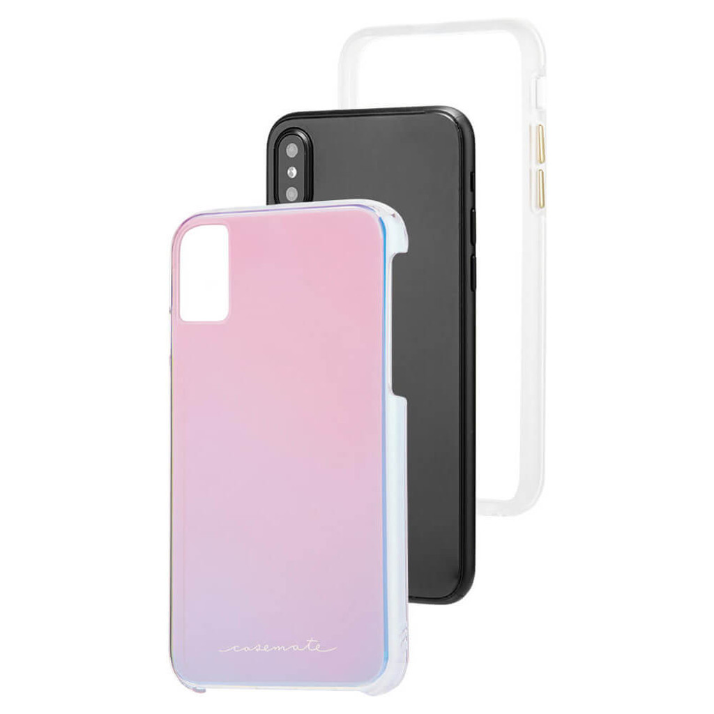 CaseMate Iridescent Naked Tough Case | iPhone X | Expanded