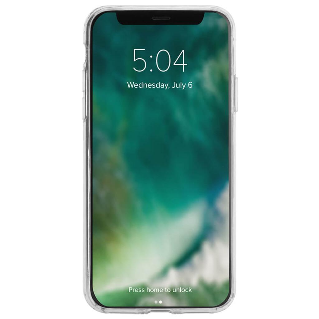 XQISIT Flex Case | iPhone X | Front