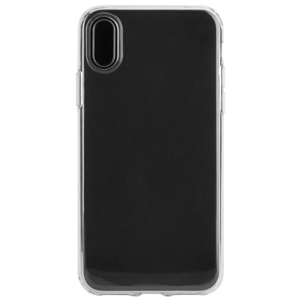 XQISIT Flex Case | iPhone X | Back