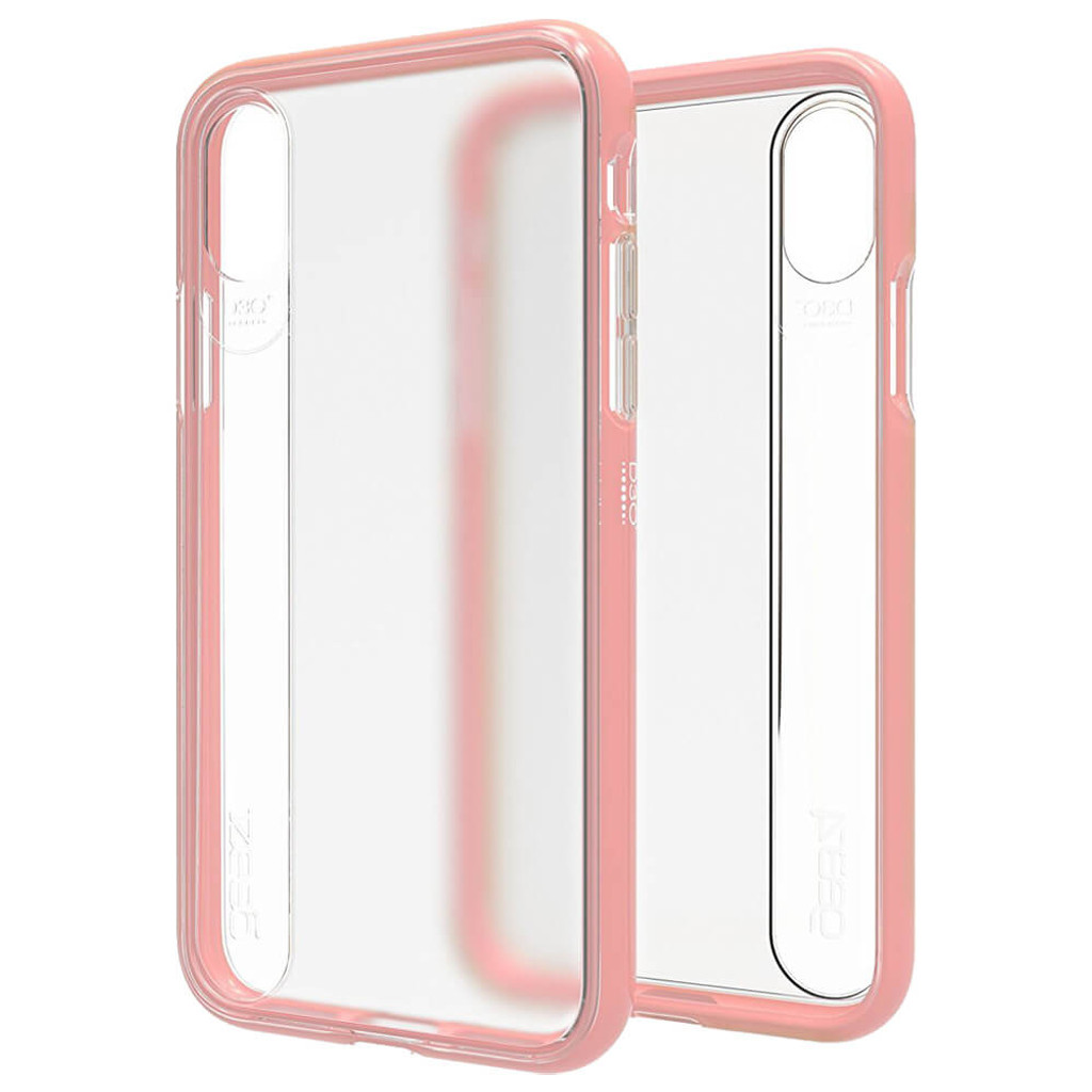 Gear4 Windsor | Rose iPhone X | Front and Back