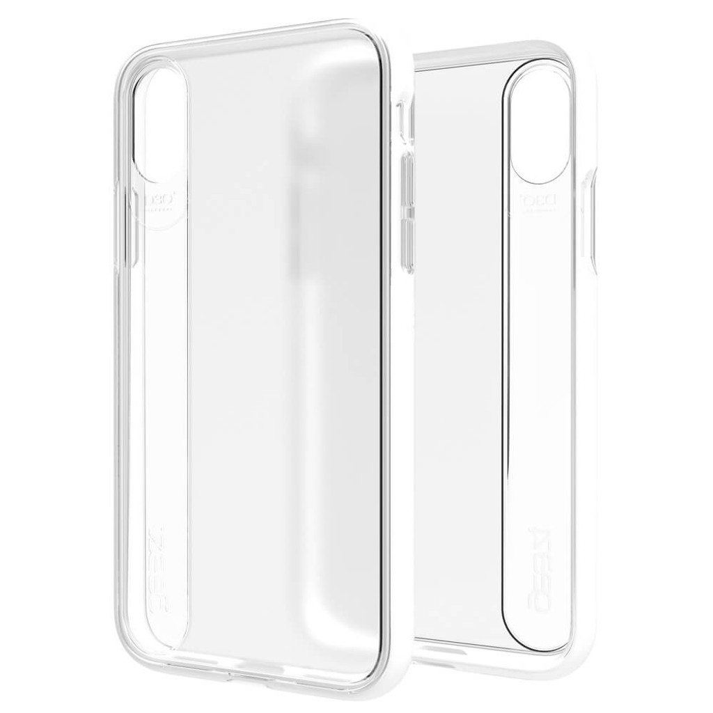 Gear4 Windsor | White iPhone X | Front and Back