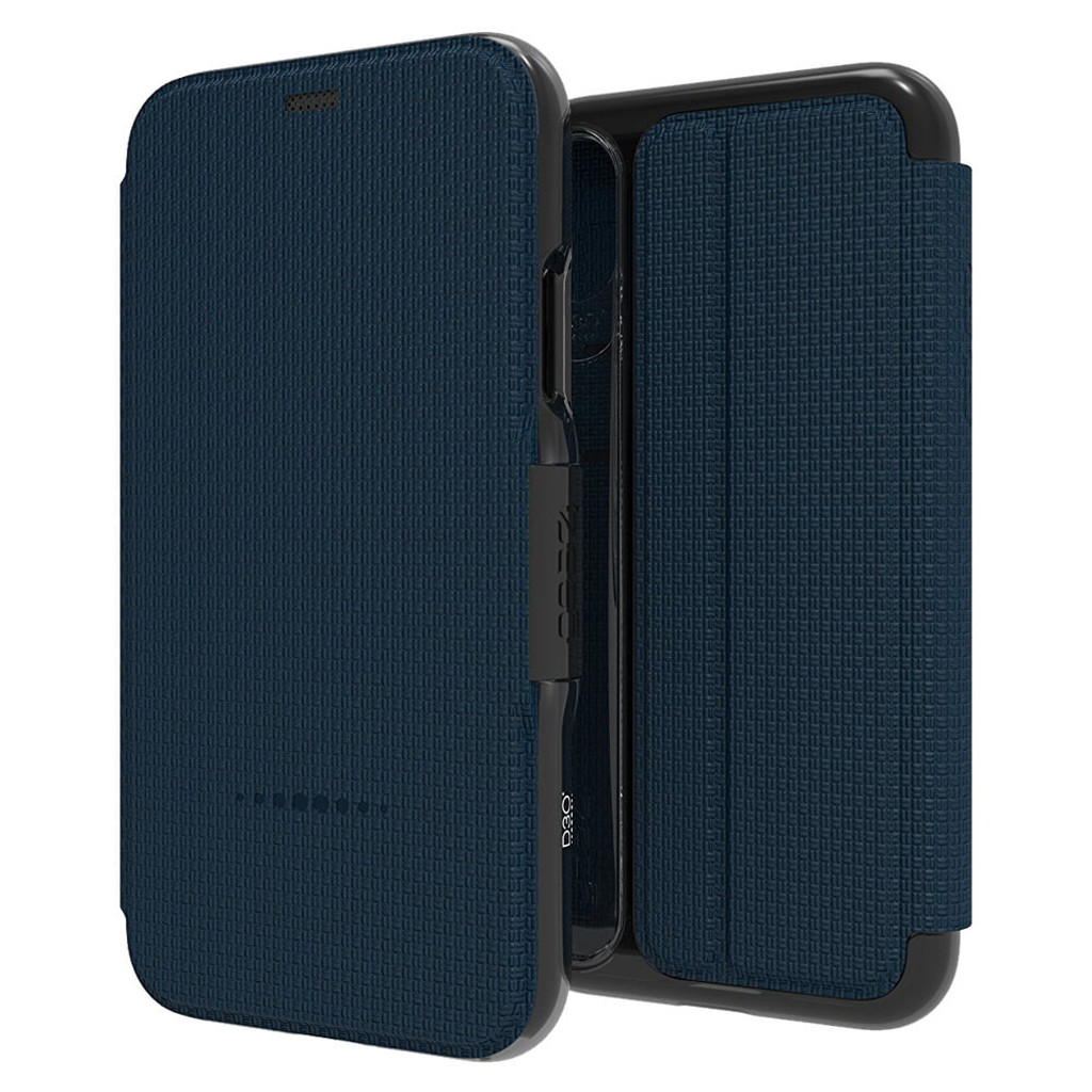 Gear4 Oxford Blue iPhone X | Front and Back