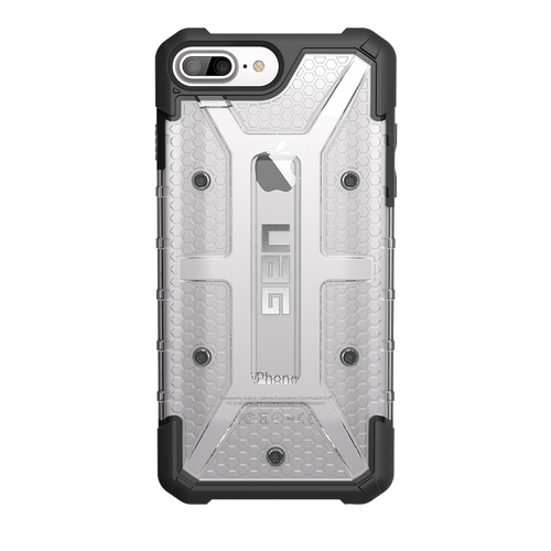 UAG Plasma iPhone 7 Case - Ice | Back