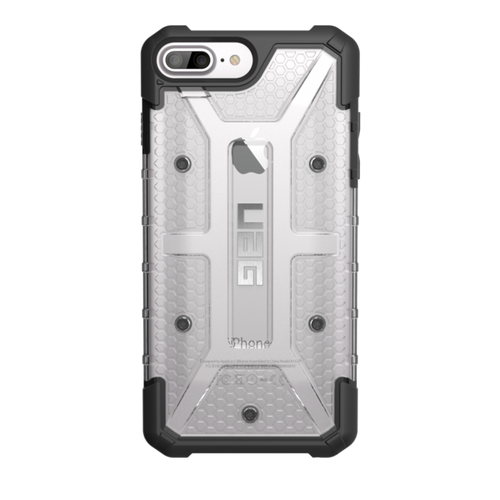 UAG Plasma iPhone 7 Plus Case - Ice | Back