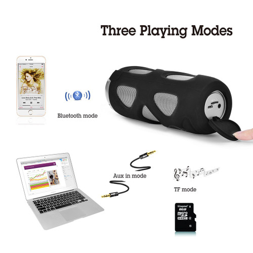 Cyclone Outdoor Wireless Speaker | Playing Modes