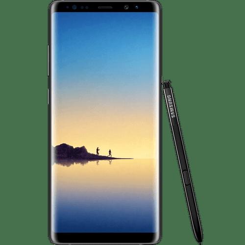 Samsung Galaxy Note8 | Midnight Black | Front
