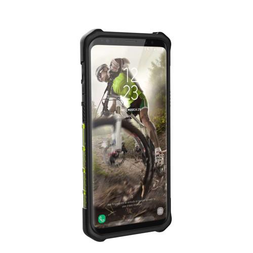 UAG Plasma Galaxy S9 Case   Citron - Black   Front