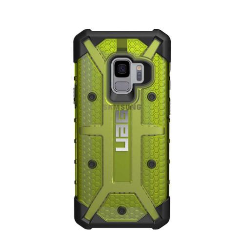UAG Plasma Galaxy S9 Case   Citron - Black   Back