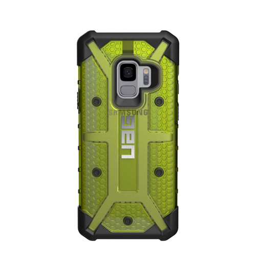 UAG Plasma Galaxy S9 Case | Citron - Black | Back