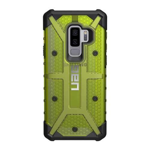 UAG Plasma Galaxy S9 Plus Case | Citron - Black | Back