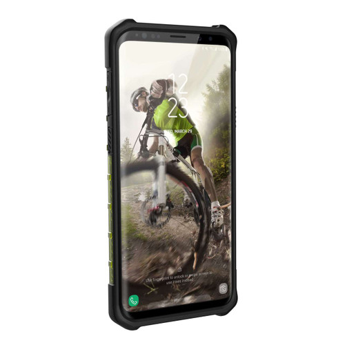 UAG Plasma Galaxy S9 Plus Case | Citron - Black | Front