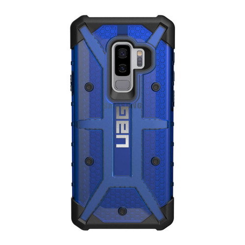 UAG Plasma Galaxy S9 Plus Case | Cobalt | Rear
