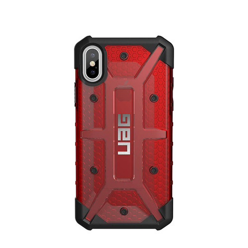 UAG Plasma iPhone X  Case | Magma | Back