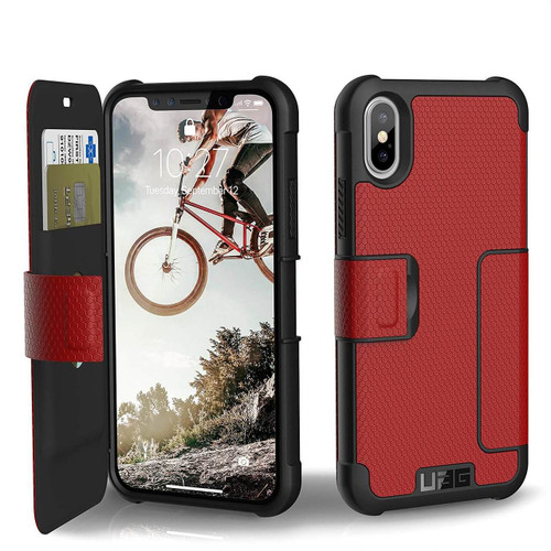 UAG Metropolis iPhone X | Magma | Front and Back