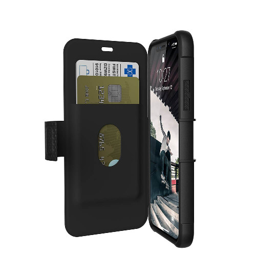 UAG Metropolis iPhone X Case | Black | Open