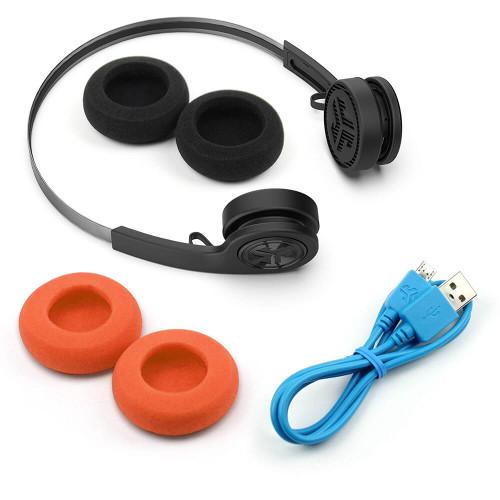 JLab Audio Rewind Wireless Retro Headphones   Accessories