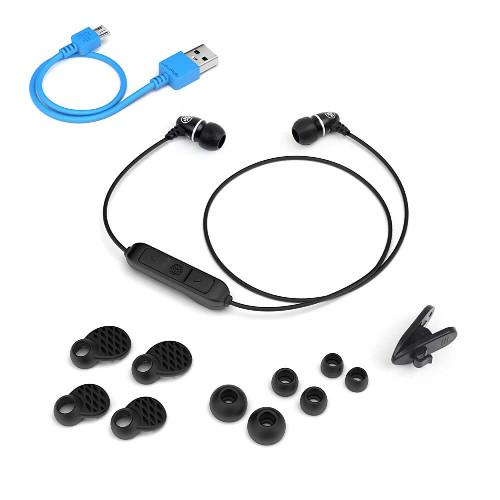 JLab Audio Metal Bluetooth Wireless Rugged Earbuds | Black | Accessories