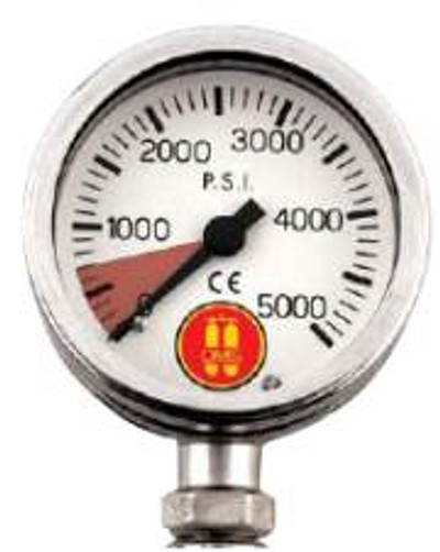OMS SUBMERSIBLE PRESSURE GAUGE ( SPG ) - OXYGEN CLEAN