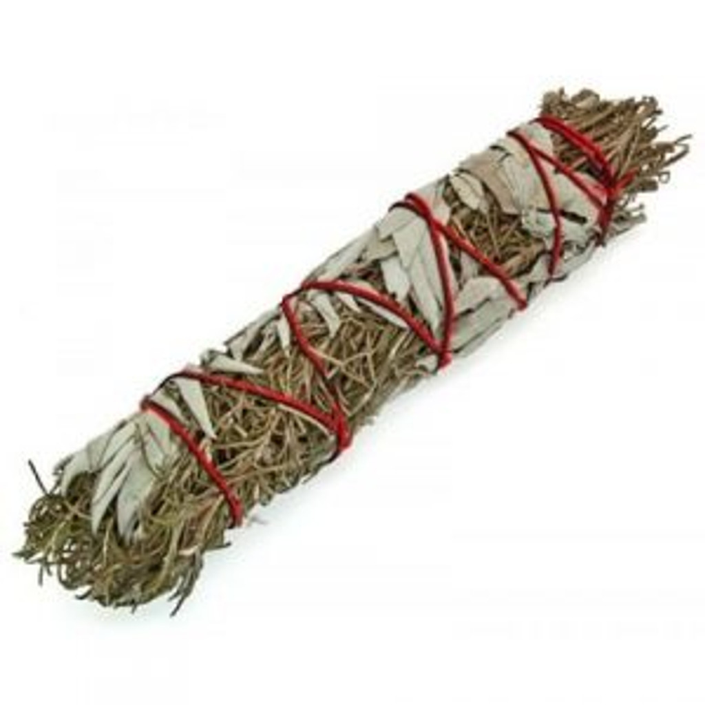 Premium Sage & Rosemary Smudge Stick (XL)