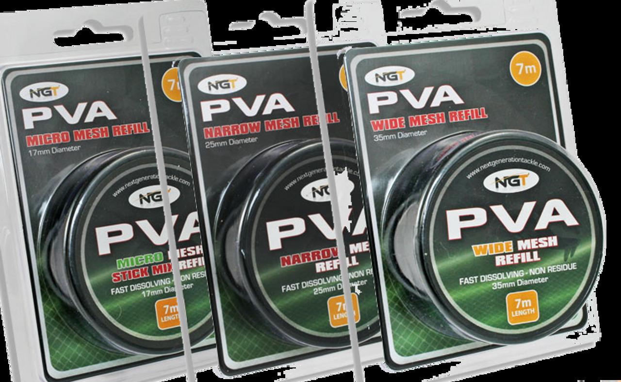 NGT PVA Mesh Refill - 7m Spool