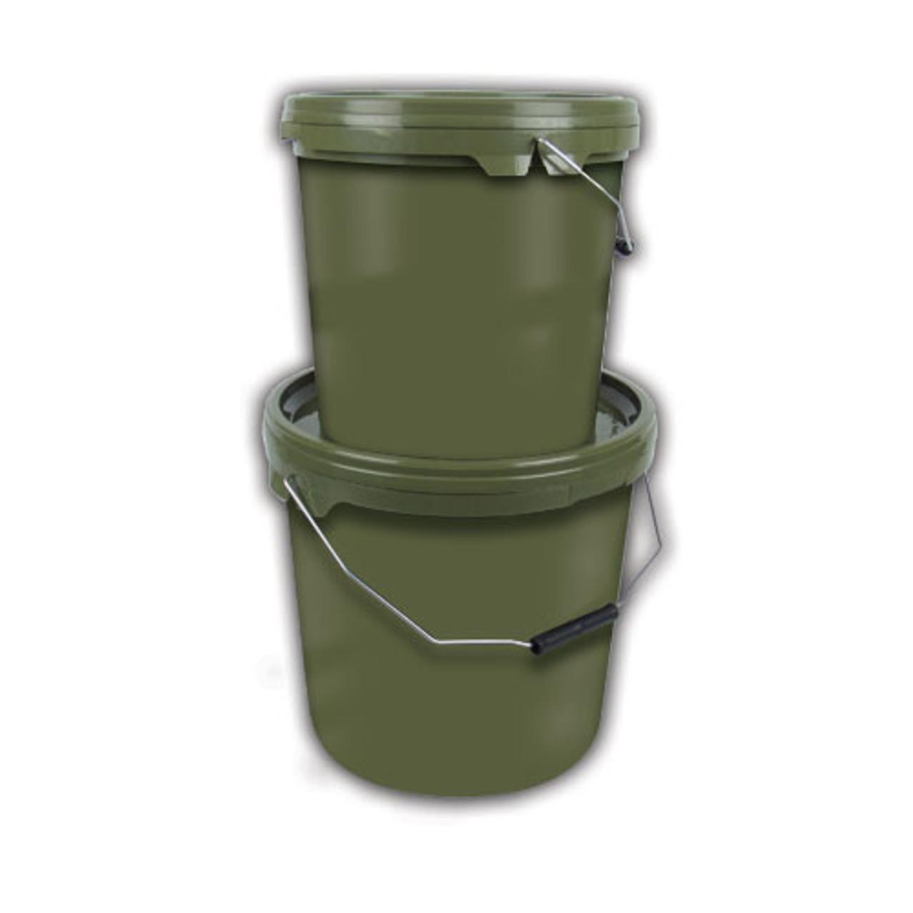 Gardner Carpy Green Bait Buckets