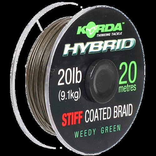 Korda Hybrid Stiff Coated Braid 20lb Hooklink