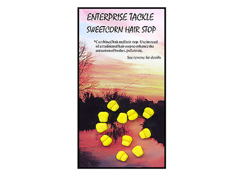 Enterprise Mini Yellow Sweetcorn Hair Stops