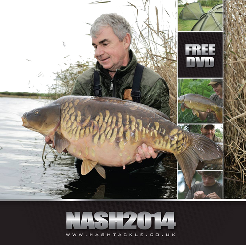 Nash 2014 Carp Fishing DVD -FREE