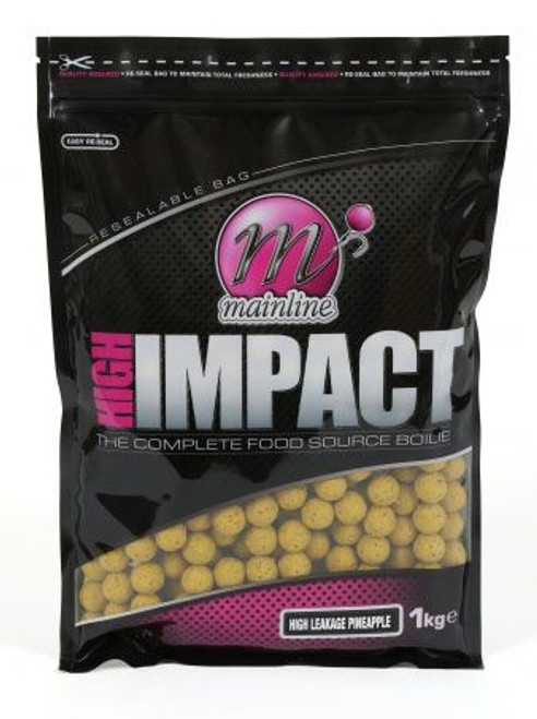 Mainline High Impact High Leakage Pineapple Boilies 1kg