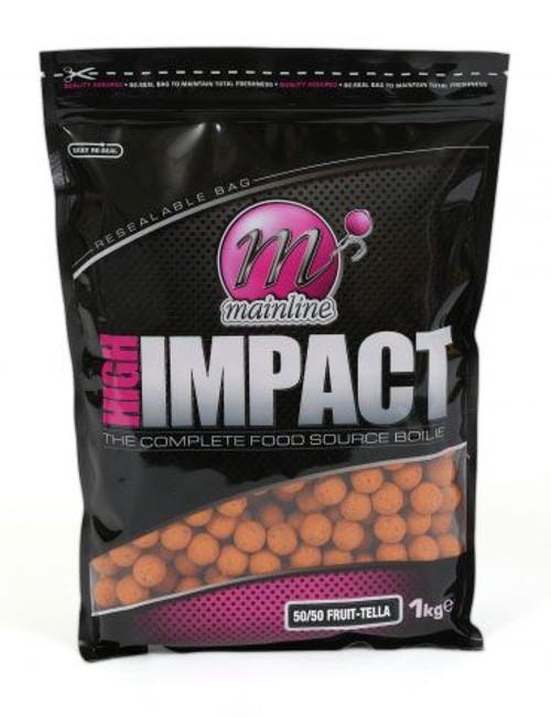 Mainline High Impact 50/50 Fruit-Tella Boilies 1kg