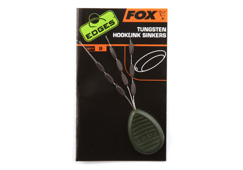 Fox EDGES™ Tungsten Hooklink Sinkers