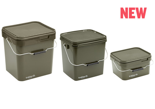 Trakker Olive Square Containers