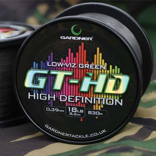 Gardner GT-HD 'Reduced Stretch' 18lb 830m Mono