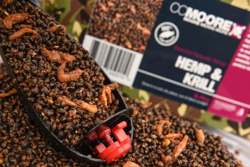 CC Moore New Hemp & Krill 2.5kg Camou Bucket