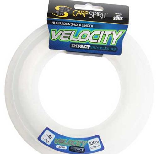Carp Spirit Velocity Impact Shock Leader by Sufix 100m
