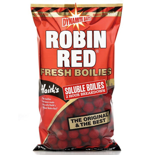 Dynamite Baits Soluble 18mm Robin Red Boilies