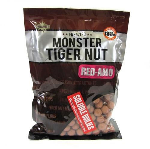 Dynamite Baits Soluble 18mm Monster Tiger Nut Red AMO Boilies