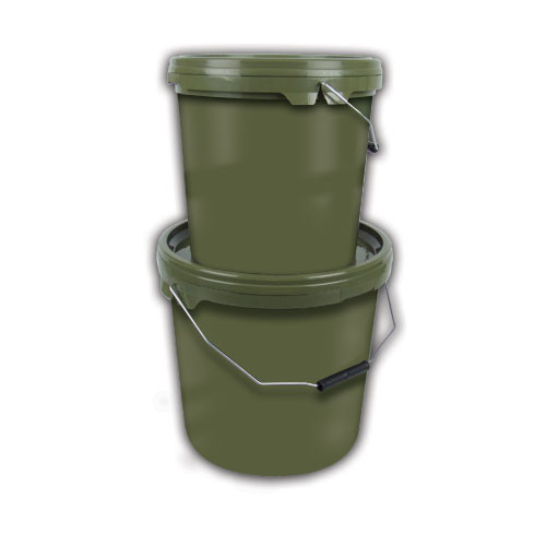 Gardner Carpy Green Bait Buckets