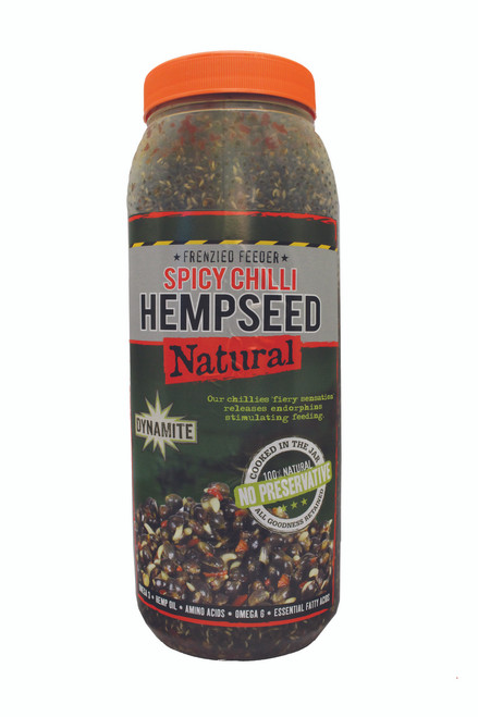 Dynamite Baits Frenzied Chilli Hempseed 2.5lt Jar