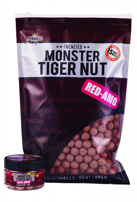 Dynamite Baits Monster Tigernut Red-Amo Boilies - 1kg