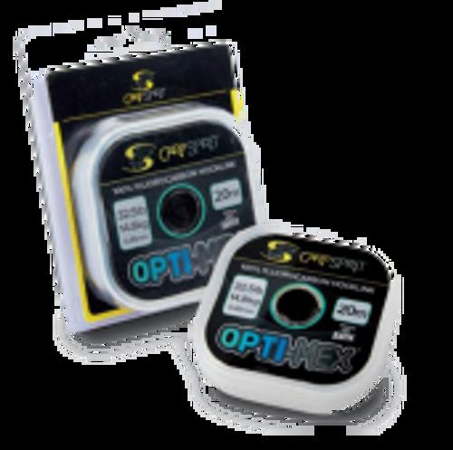 Carp Spirit Optimex 100% Fluorocarbon Hooklink 20m by Sufix