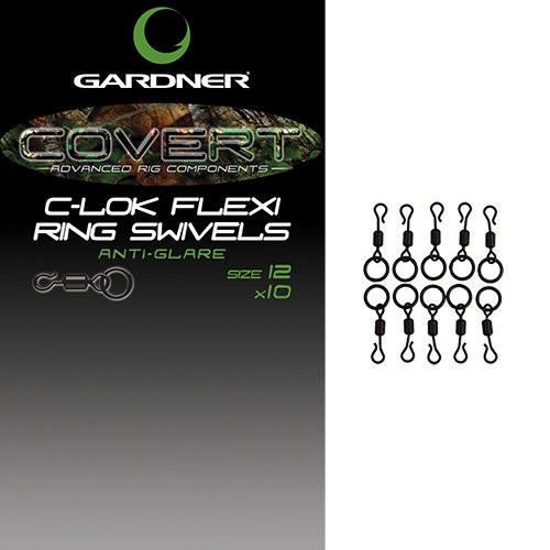 Gardner Covert C-lok Flexi Ring Swivels