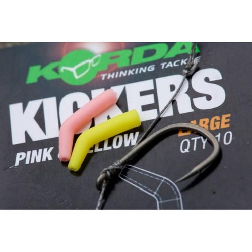 Korda Kickers Yellow & Pink Large