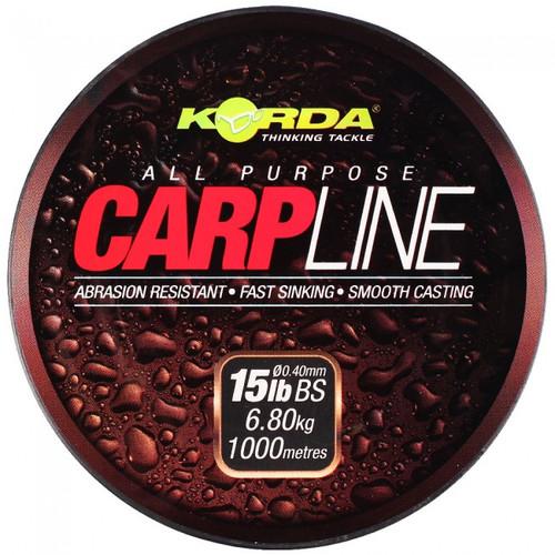 Korda Carp Line 20lb 1000m Green