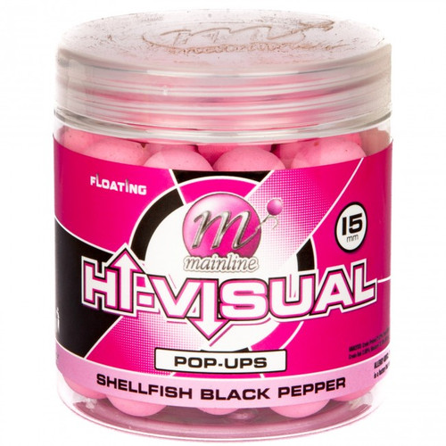 Mainline Hi Visual Shellfish Black Pepper Pop Ups - Washed Out Pink