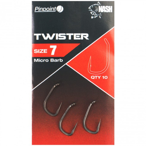 Nash Pinpoint Twister Hooks