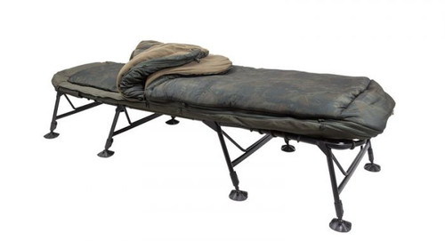 Nash Indulgence Sleep System SS4 Wideboy 5 Season Bedchair