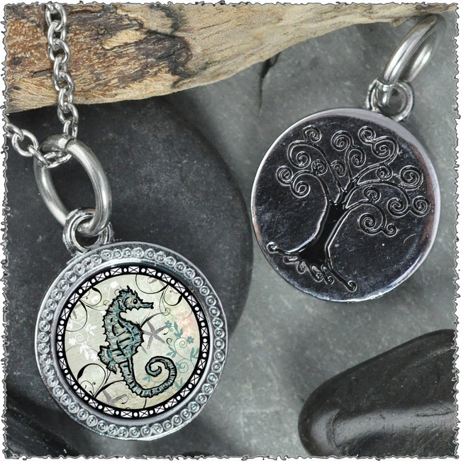 "Seahorse ""Tree"" Pendant"